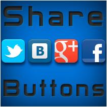 Установка Share Buttons