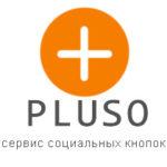 Сервис социальных кнопок для сайта Pluso