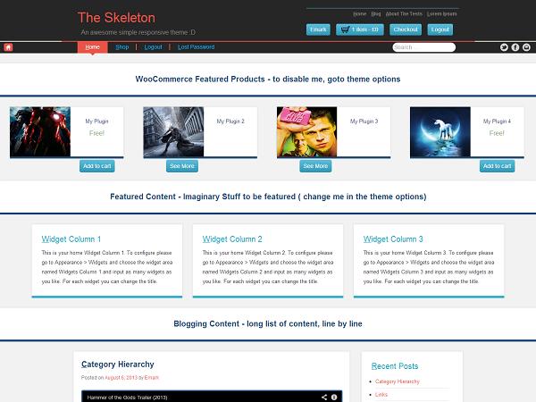 Бесплатные шаблоны для WordPress