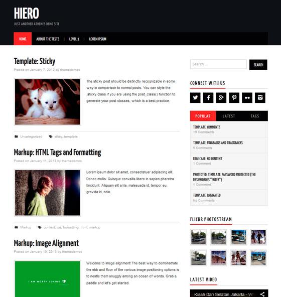 Топ - 5 шаблонов для WordPress