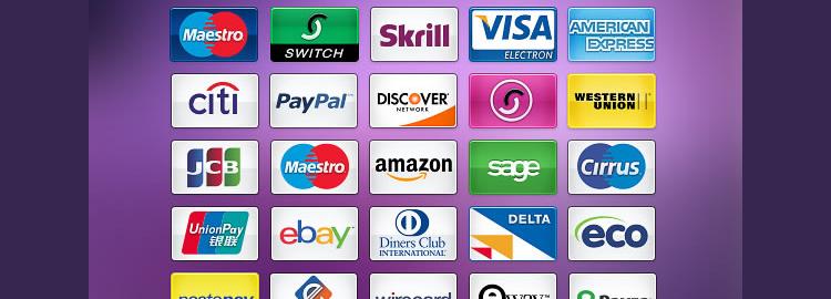 Скачать значки платежных систем бесплатно
