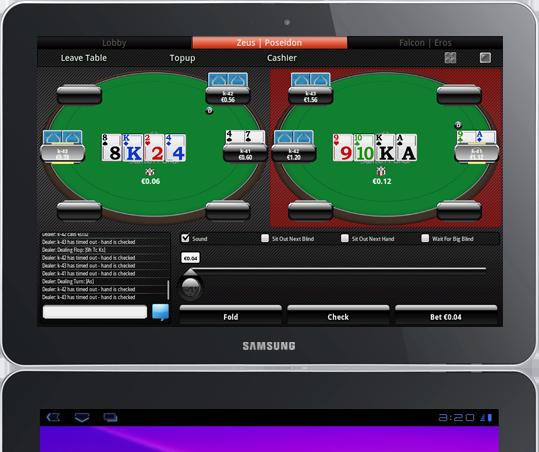 Андройд планшета для игры в покер