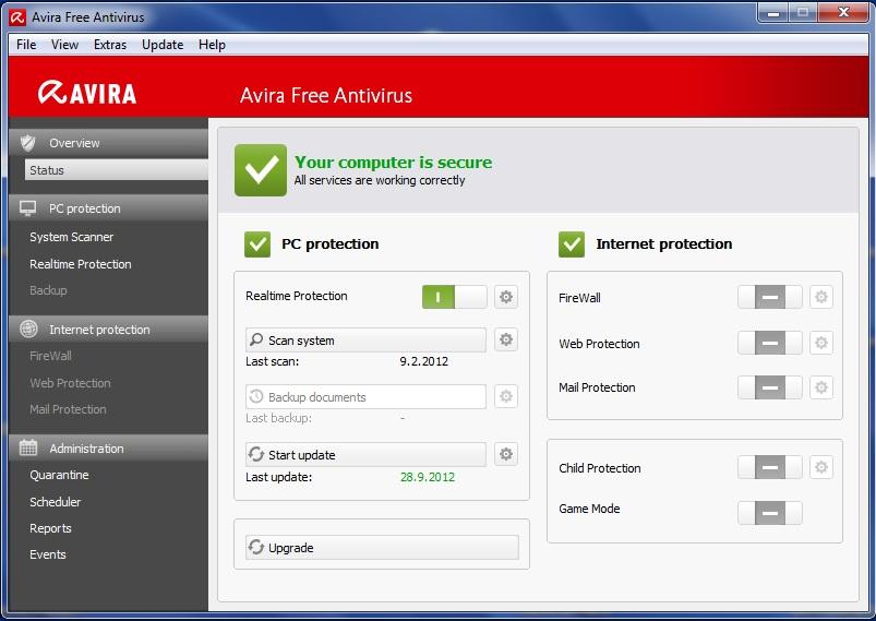 Avira бесплатная антивирусная программа